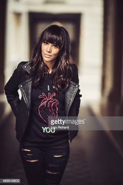 Singer Shy'm is photographed for Gala on September 24 2015 in Paris France