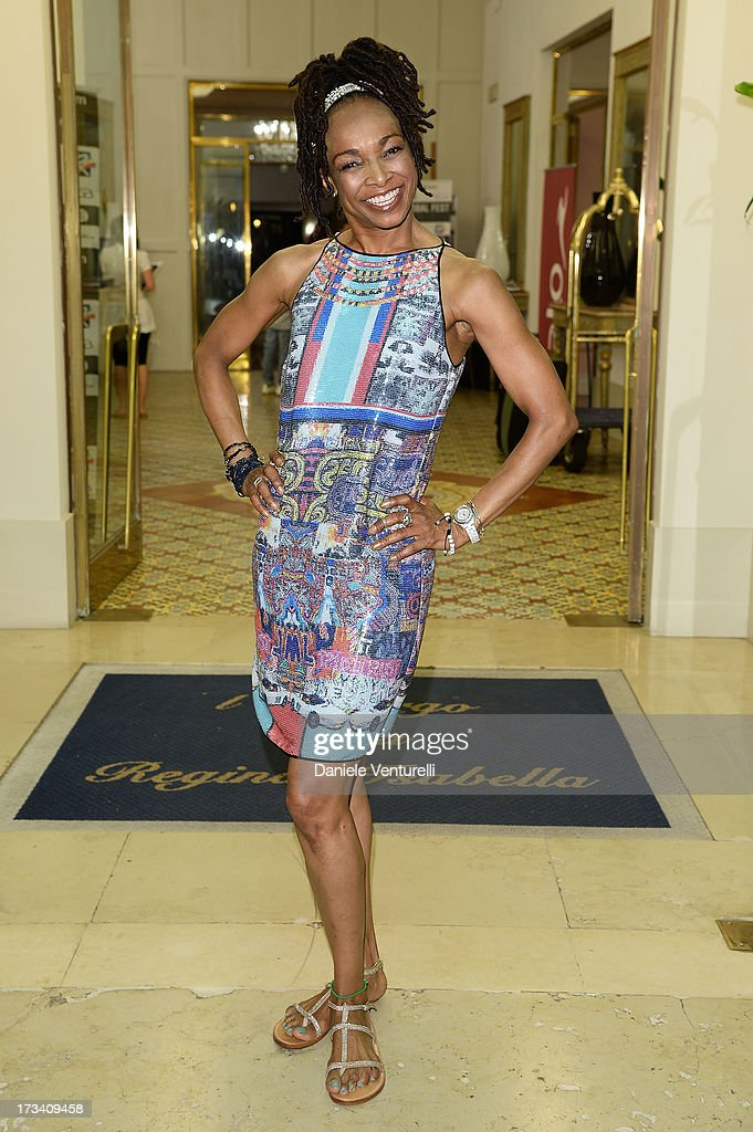 Singer Siedah Garrett attends Day 1 of the Ischia Global Fest 2013 on July 13, 2013 in Ischia, Italy.