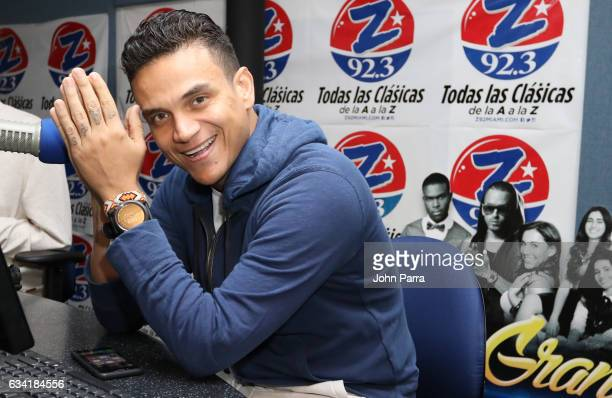 Singer Silvestre Dangond visits SBS Broadcast Center on February 7 2017 in Miami Florida