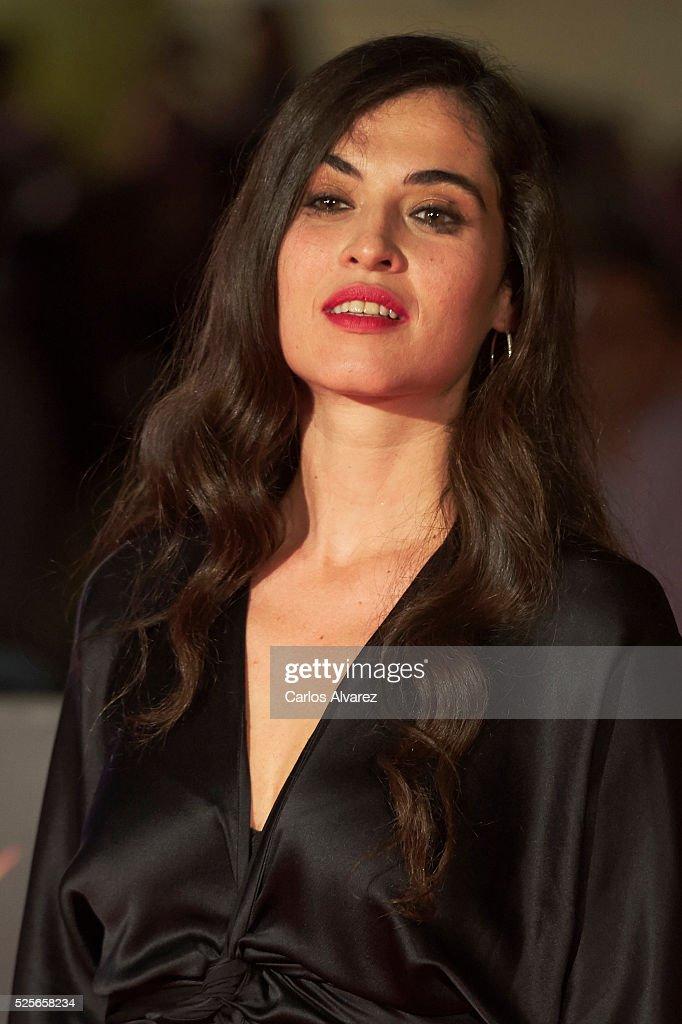 Singer Silvia Perez Cruz attends 'La Ultima Piel' premiere at the Cervantes Teather during the 19th Malaga Film Festival on April 28, 2016 in Malaga, Spain.