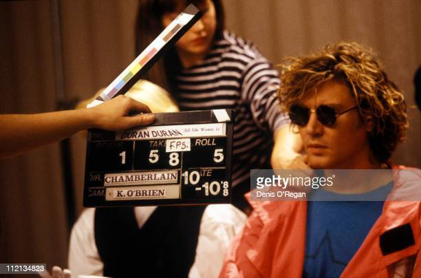 Singer Simon Le Bon of Duran Duran 1988