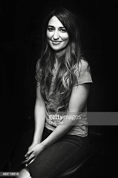 Singer Singer Sara Bareilles visits the SiriusXM Studios on September 23 2015 in New York City
