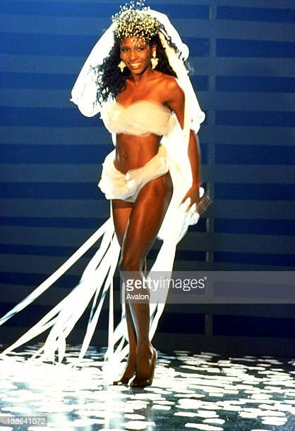 UK singer Sinitta photographed in the late 1980's