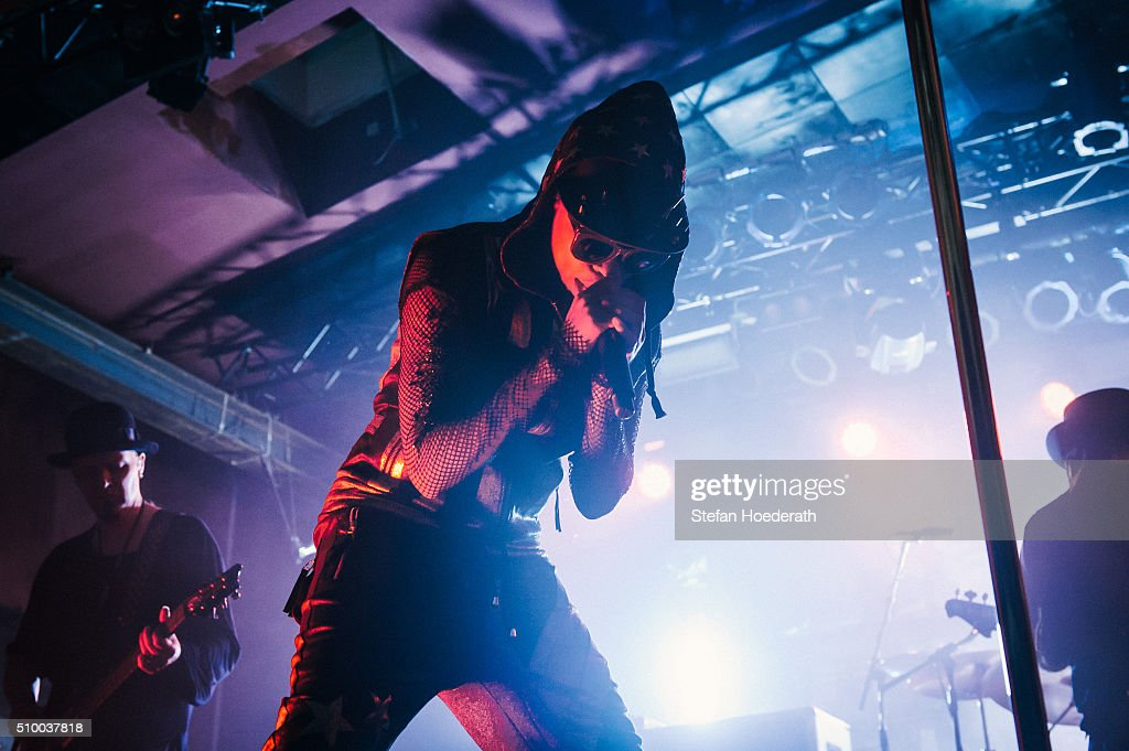 Singer <a gi-track='captionPersonalityLinkClicked' href=/galleries/search?phrase=Skin+-+Singer&family=editorial&specificpeople=5129372 ng-click='$event.stopPropagation()'>Skin</a> aka Deborah Anne Dyer of Skunk Anansie performs live on stage during a concert at Astra on February 13, 2016 in Berlin, Germany.
