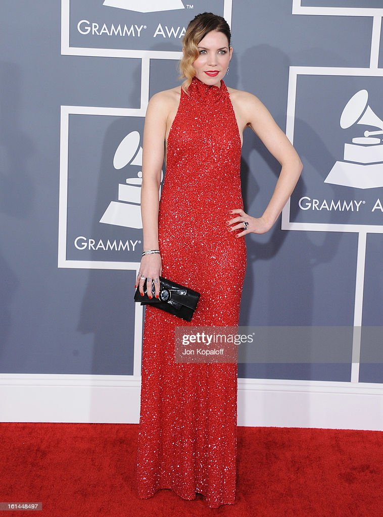 Singer Skylar Grey arrives at The 55th Annual GRAMMY Awards at Staples Center on February 10, 2013 in Los Angeles, California.