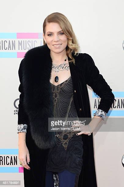 Singer Skylar Grey attends the 2013 American Music Awards at Nokia Theatre LA Live on November 24 2013 in Los Angeles California