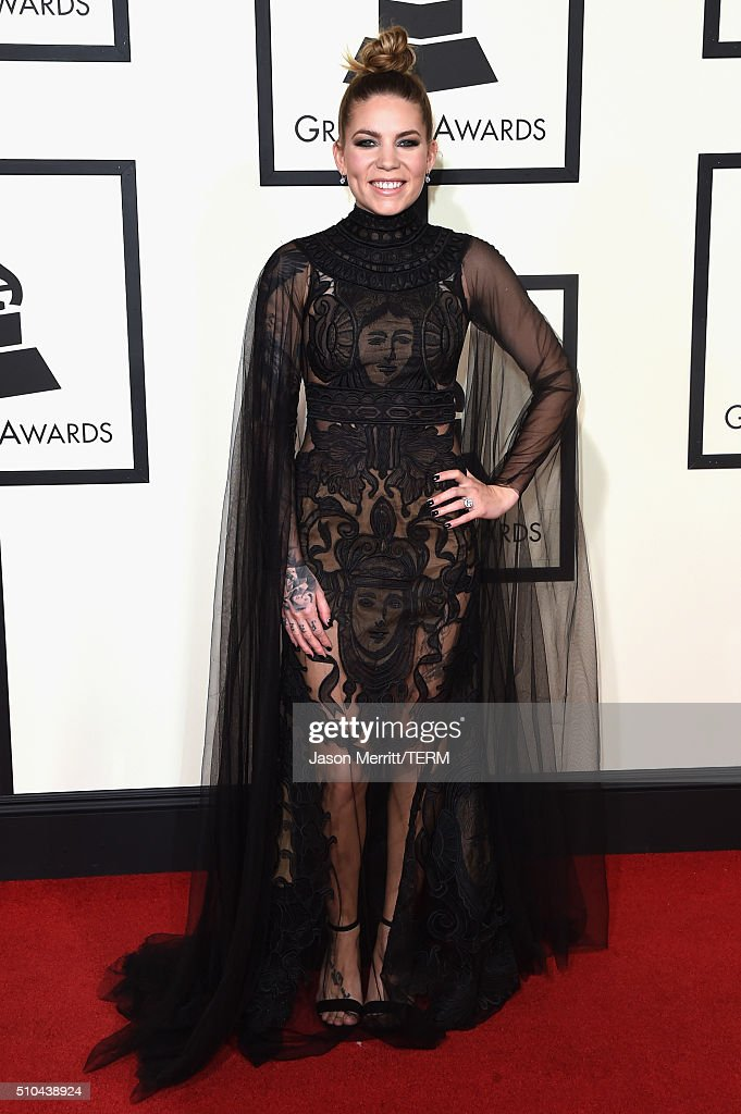 Singer Skylar Grey attends The 58th GRAMMY Awards at Staples Center on February 15, 2016 in Los Angeles, California.