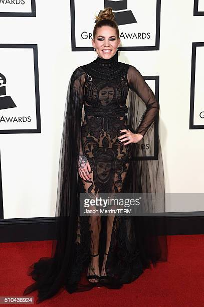Singer Skylar Grey attends The 58th GRAMMY Awards at Staples Center on February 15 2016 in Los Angeles California