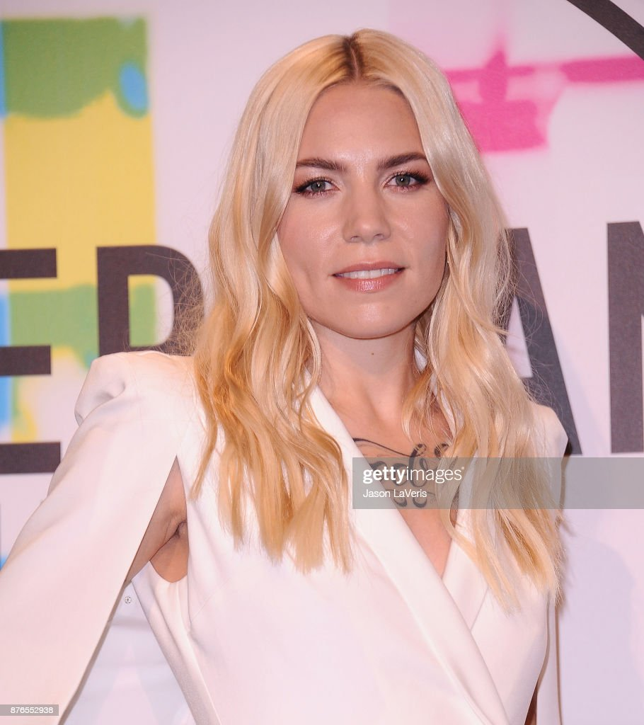 Singer Skylar Grey poses in the press room at the 2017 American Music Awards at Microsoft Theater on November 19, 2017 in Los Angeles, California.
