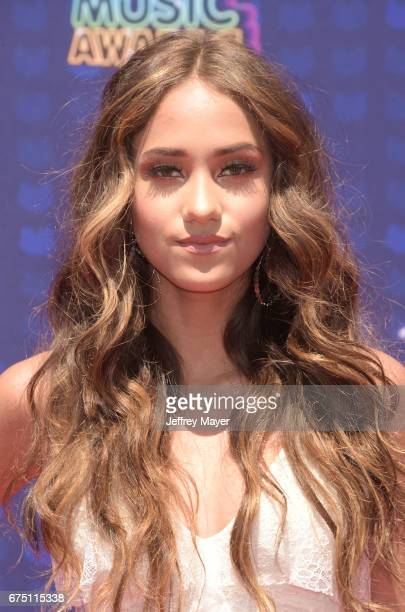 Singer Skylar Stecker attends the 2017 Radio Disney Music Awards at Microsoft Theater on April 29 2017 in Los Angeles California