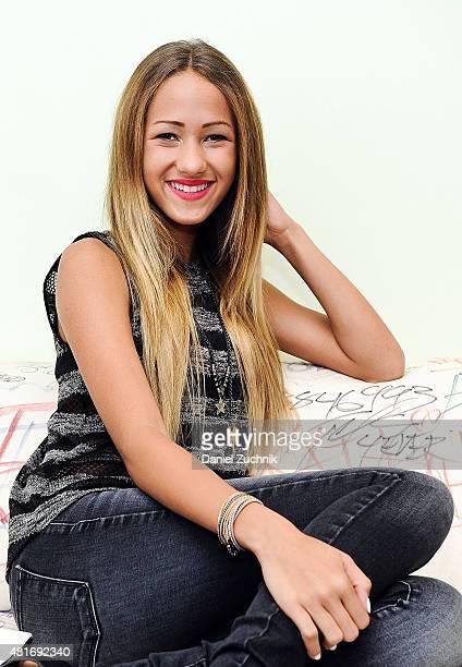Singer Skylar Stecker visits Music Choice on July 23 2015 in New York City