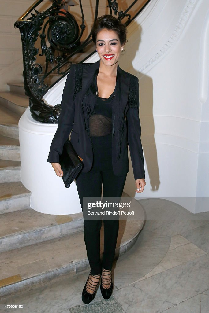 Jean Paul Gaultier : Front Row - Paris Fashion Week - Haute Couture Fall/Winter 2015/2016