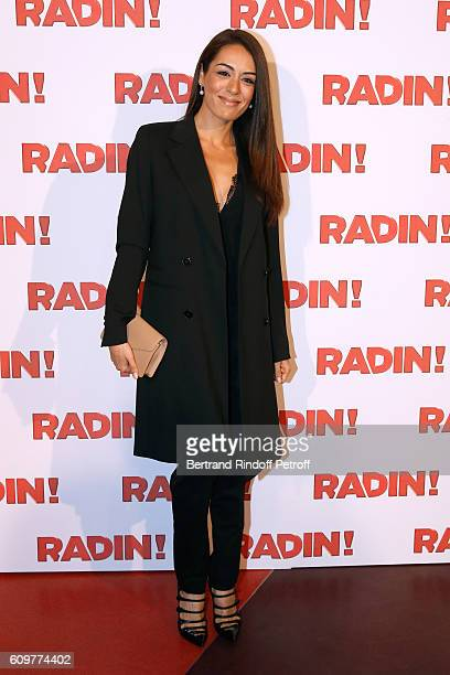Singer Sofia Essaidi attends the 'Radin' Paris Premiere at Cinema Gaumont Opera on September 22 2016 in Paris France