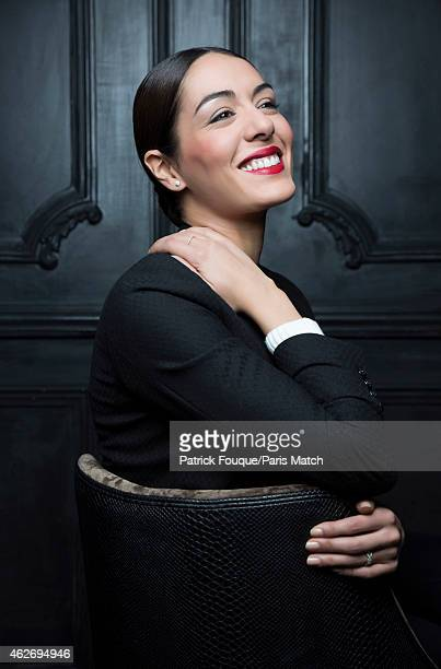 Singer Sofia Essaidi is photographed for Paris Match on November 19 2014 in Paris France