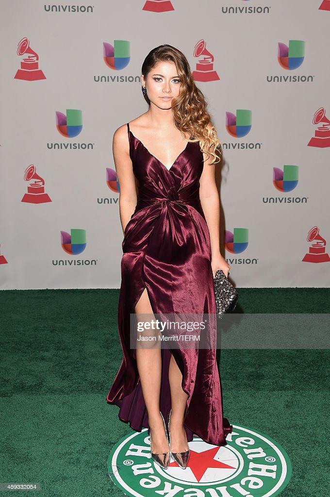 Singer Sofia Reyes attends the 15th Annual Latin GRAMMY Awards at the MGM Grand Garden Arena on November 20, 2014 in Las Vegas, Nevada.