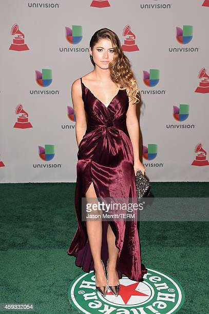Singer Sofia Reyes attends the 15th Annual Latin GRAMMY Awards at the MGM Grand Garden Arena on November 20 2014 in Las Vegas Nevada