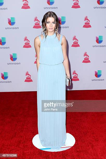 Singer Sofia Reyes attends the 16th Latin GRAMMY Awards at the MGM Grand Garden Arena on November 19 2015 in Las Vegas Nevada