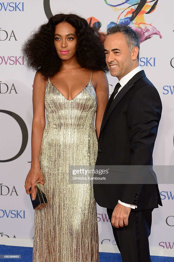 Singer Solange Knowles attends the 2014 CFDA fashion awards at Alice Tully Hall, Lincoln Center on June 2, 2014 in New York City.