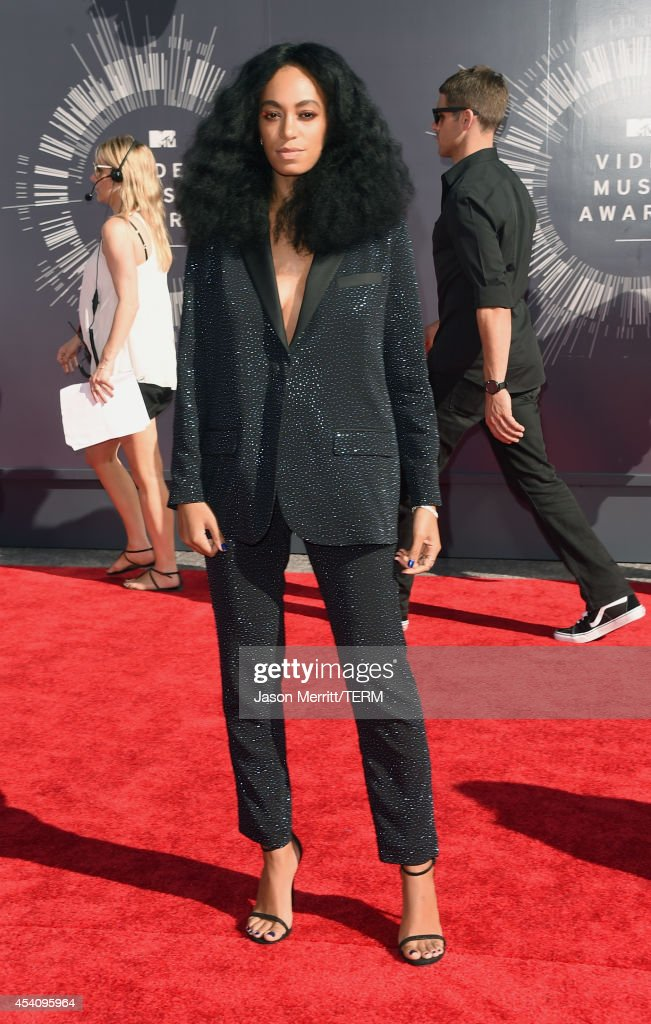 Singer Solange Knowles attends the 2014 MTV Video Music Awards at The Forum on August 24 2014 in Inglewood California