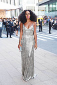 Singer Solange Knowles is seen arriving at The 2014 CFDA Fashion Awards on June 2 2014 in New York City