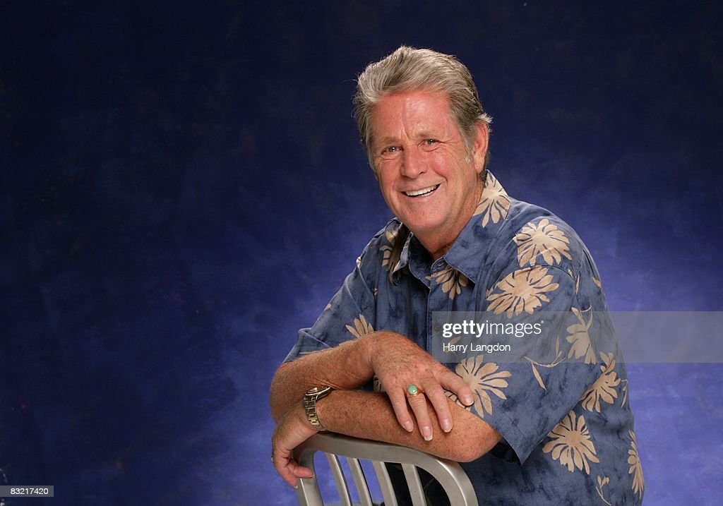 Singer, song writer and founding member of The Beach Boys, Brian Wilson poses for a Portrait session on August 6, 2007 in Los Angeles, California.