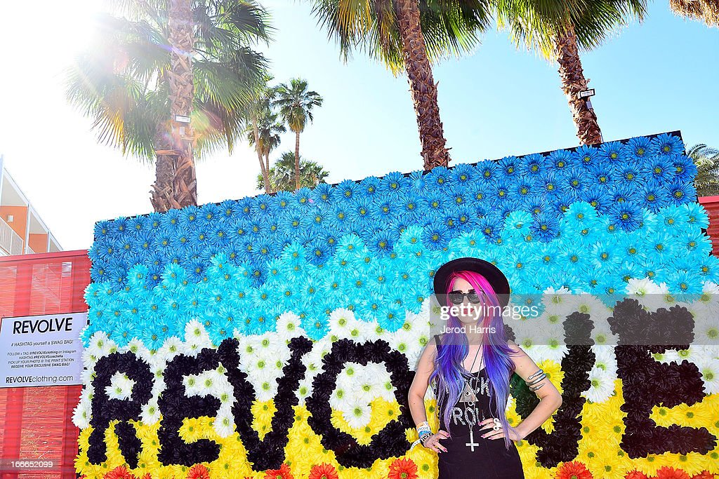 Singer songwriter Alexandra Starlight attends REVOLVEclothing's VIP Festival Event - Day 2 at The Saguaro Palm Springs on April 14, 2013 in Palm Springs, California.