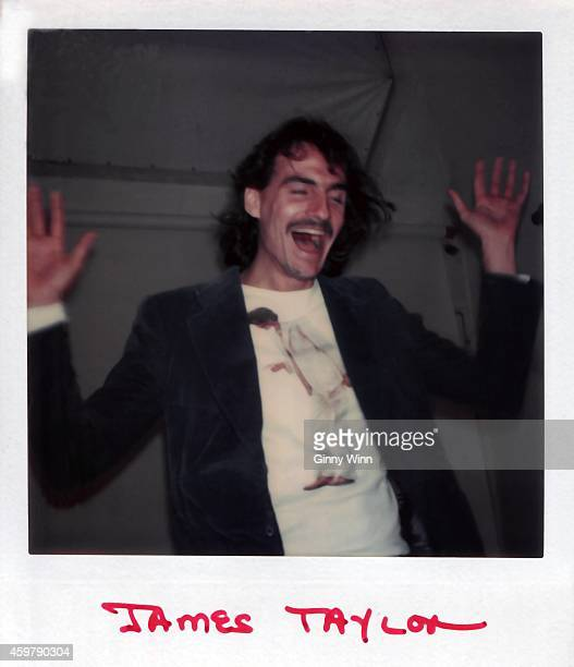 Singer songwriter and guitarist James Taylor poses for portrait circa 1975 in Los Angeles California