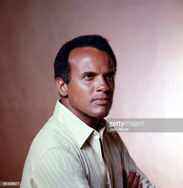 Singer songwriter and social activist Harry Belafonte photographed in 1970