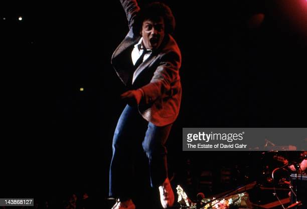 Singer songwriter Billy Joel performs at Madison Square Garden on December 24 1978 in New York City New York
