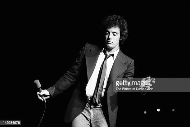 Singer songwriter Billy Joel performs in March 1979 at Havana Jam a threeday international music festival held at the Karl Marx Theatre in Havana Cuba