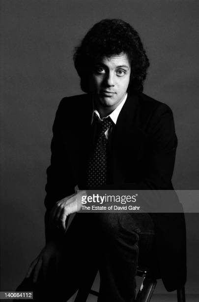 Singer songwriter Billy Joel poses for a portrait in January 1978 in New York City New York