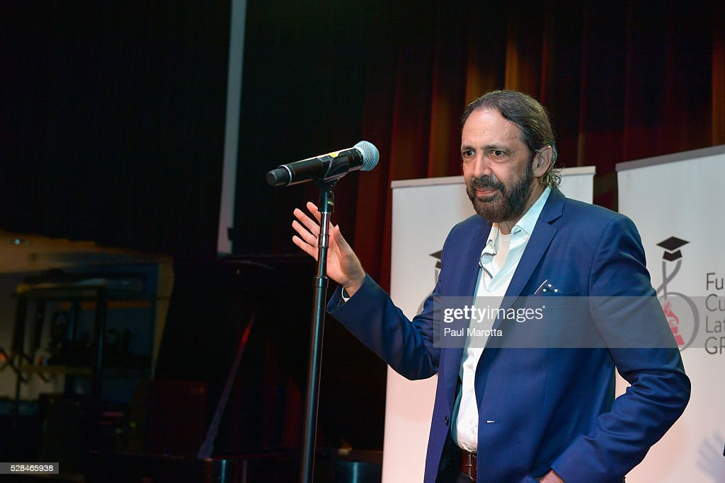Singer Songwriter, composer and producer <a gi-track='captionPersonalityLinkClicked' href=/galleries/search?phrase=Juan+Luis+Guerra&family=editorial&specificpeople=208921 ng-click='$event.stopPropagation()'>Juan Luis Guerra</a> at the <a gi-track='captionPersonalityLinkClicked' href=/galleries/search?phrase=Juan+Luis+Guerra&family=editorial&specificpeople=208921 ng-click='$event.stopPropagation()'>Juan Luis Guerra</a> Scholarship Presentation, presented by the Latin GRAMMY Cultural Foundation at Berklee College of Music on May 5, 2016 in Boston, Massachusetts.