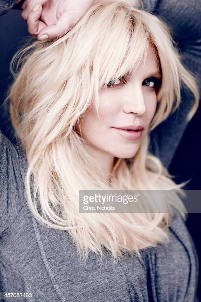 Singer songwriter Courtney Love is photographed for Fashion Magazine on August 18 2013 in New York City