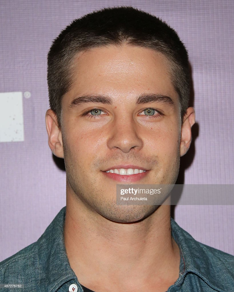 Singer / Songwriter Dean Geyer attends the Knott's Scary Farm celebrity VIP opening night at Knott's Berry Farm on October 2 2014 in Buena Park...