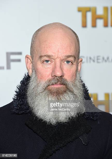 Singer songwriter film producer Michael Stipe attends a screening of Sony Pictures Classics' 'The Bronze' hosted by Cinema Society SELF at Metrograph...