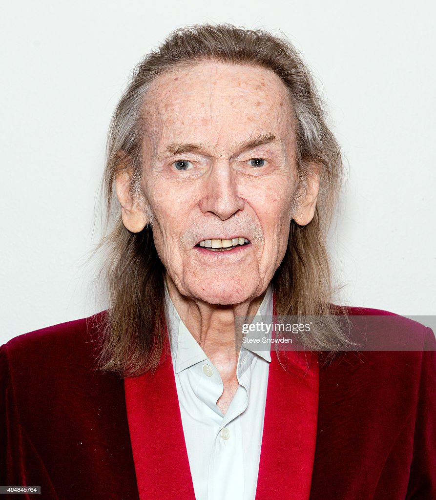 Singer / Songwriter Gordon Lightfoot poses backstage following his performance at Route 66 Casinos Legends Theater on February 28, 2015 in Albuquerque, New Mexico.