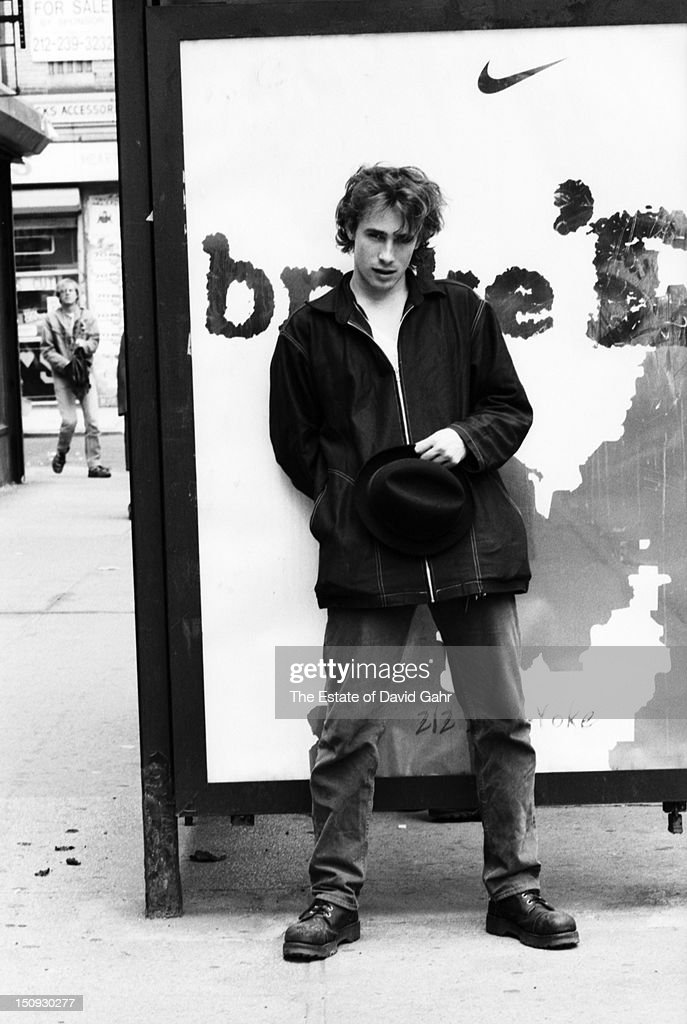 Singer songwriter Jeff Buckley poses for a portrait in May, 1994 in New York City, New York.