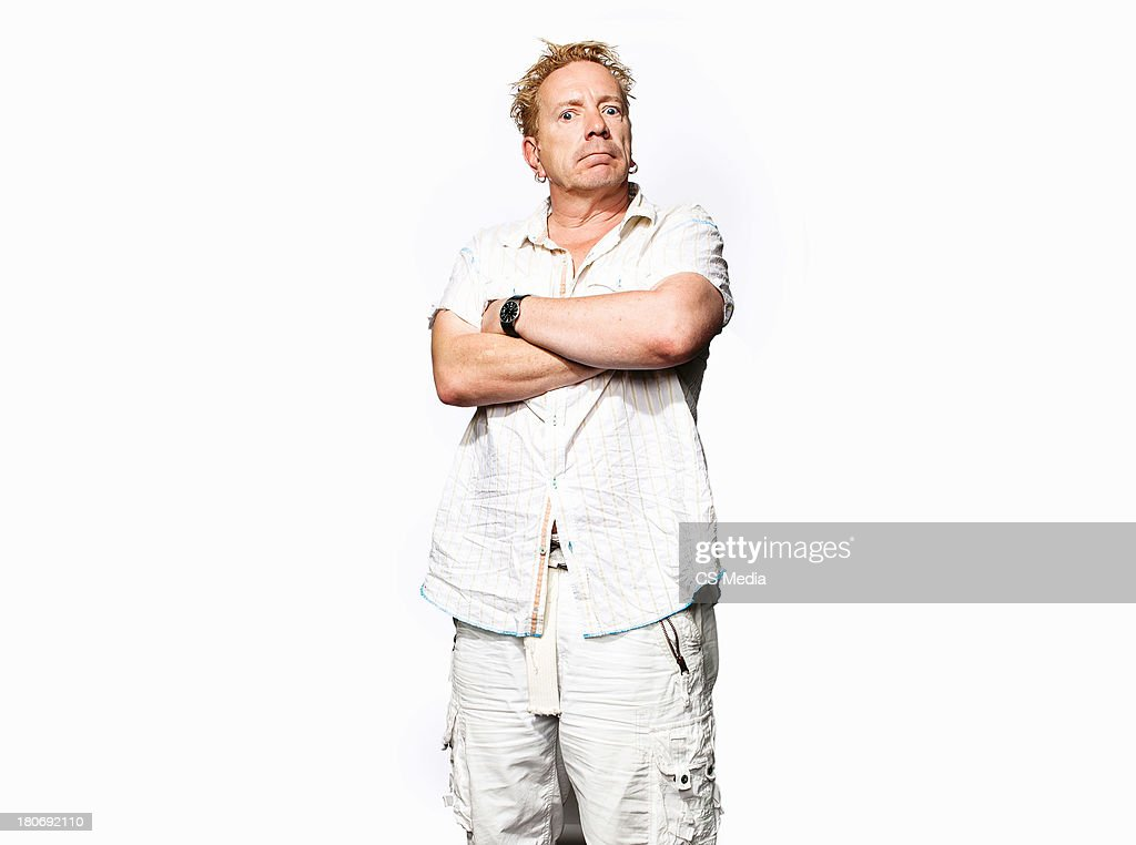 John Lydon, Portrait shoot, September 11, 2011