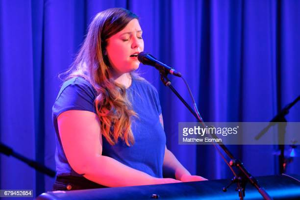 Singer/ songwriter Mary Lambert performs live on stage to celebrate the release of her new album 'Bold' at Subculture on May 5 2017 in New York City