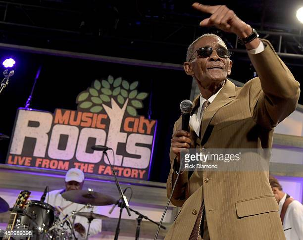 Singer/ Songwriter Robert Knight performs at Music City Roots Night Train To Nashville 10th Anniversary in Liberty Hall at The Factory on July 30...