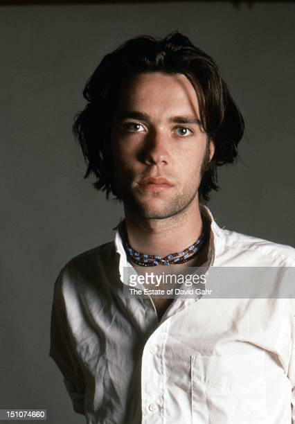 Singer songwriter Rufus Wainwright poses for a portrait in October 1996 in New York City New York