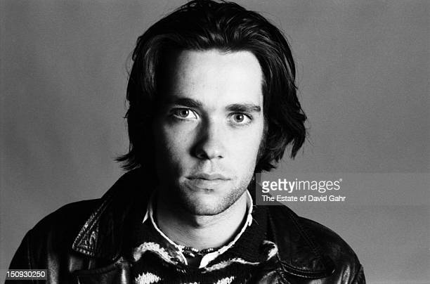 Singer songwriter Rufus Wainwright poses for a portrait on October 3 1996 in New York City New York