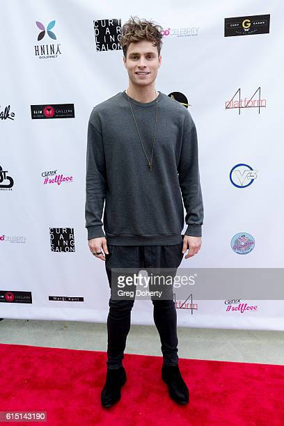 Singer Songwriter Spencer Sutherland arrives for the Breaking The Chains Foundation And Glitter Magazine First Annual Fall Reception at a private...