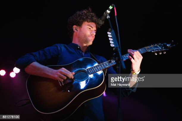 Singer songwriter Vance Joy performs on stage during the Summer Camp Music Festival hosted by 1077 The End at Marymoor Park on August 13 2017 in...