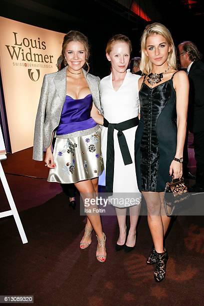 Singer songwriter Victoria Swarovski austrian actress Susanne Wuest and fashion blogger Caro Daur attend the Tribute To Bambi at Station on October 6...