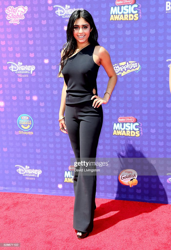 Singer Sonika Vaid attends the 2016 Radio Disney Music Awards at Microsoft Theater on April 30, 2016 in Los Angeles, California.