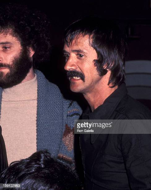 Singer Sonny Bono attends Lisa Hartman Opening Night Show on March 15 1976 at the Roxy Theatre in West Hollywood California