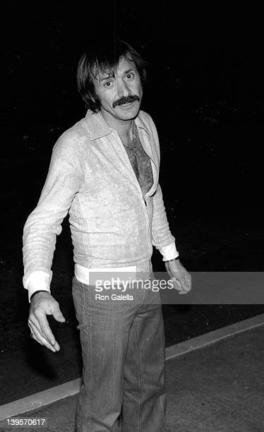 Singer Sonny Bono attends the party for Andy Warhol on February 17 1977 at Mr Chow's Restaurant in Beverly Hills California