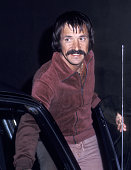 Singer Sonny Bono on March 17 1976 dines at the Rainbow Bar and Grill in West Hollywood California