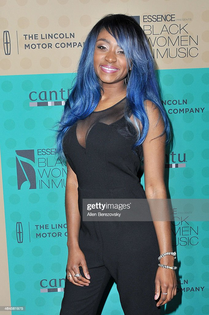Singer Sonyae Elise attends Essence Magazine's 5th Annual Black Women In Music Event at 1 OAK on January 22, 2014 in West Hollywood, California.